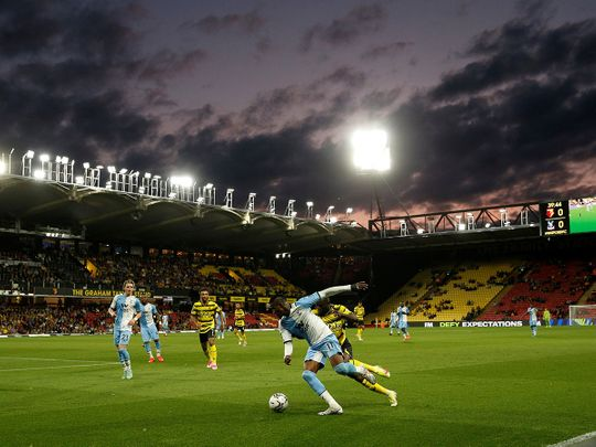 Crystal Palace went down to Watford in the League Cup