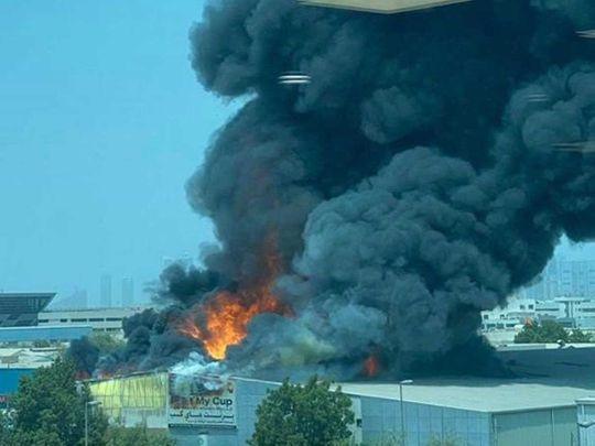 Fire in Deira