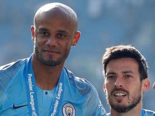 Vincent Kompany and David Silva will be honoured with statues on Saturday