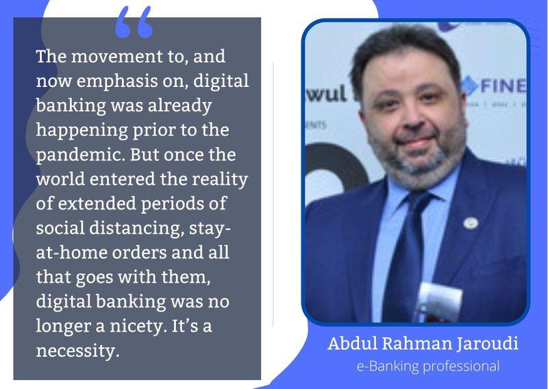 Digital banks Jaroudi
