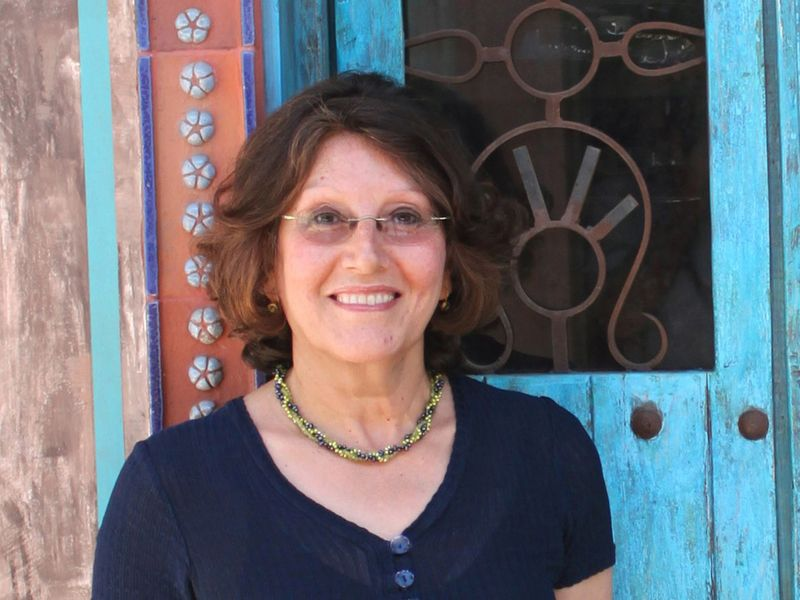Independent researcher of Arab food culture - Nawal Nasrallah