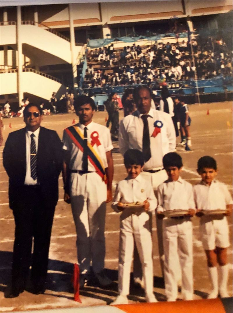 Punit MK Vasu at Indian High School Annual Sports Days in the 80s-1629968534422
