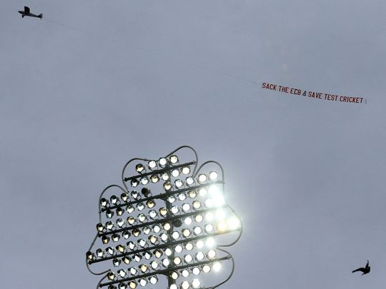Cricket - Sack ECB message
