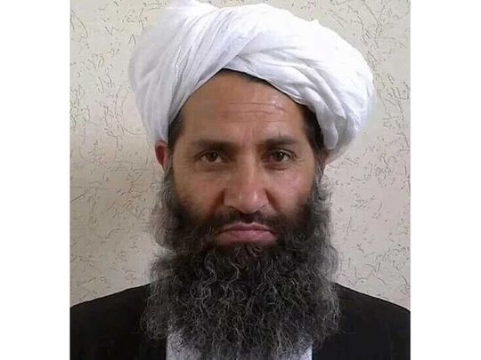 Haibatullah Akhundzada Taliban supreme leader