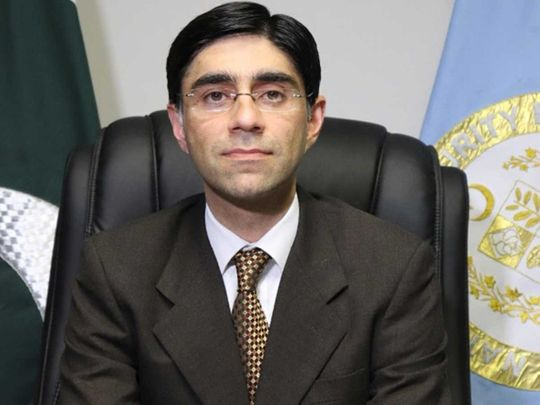 Pakistan's National Security Adviser Dr Moeed Yusuf
