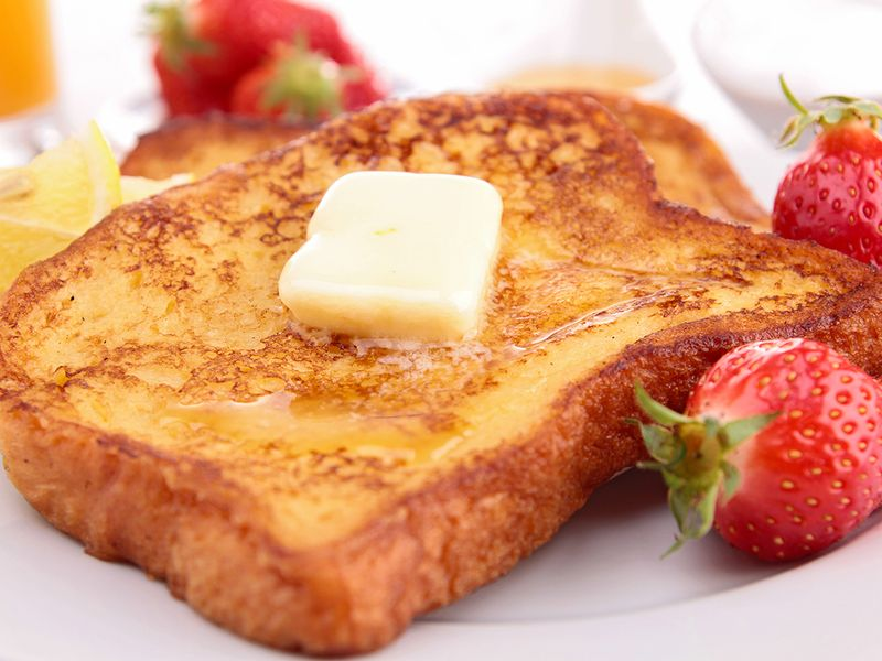 A classic French toast