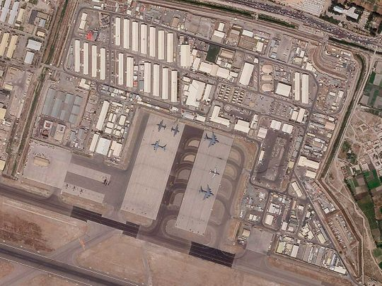 Afghan Kabul airport