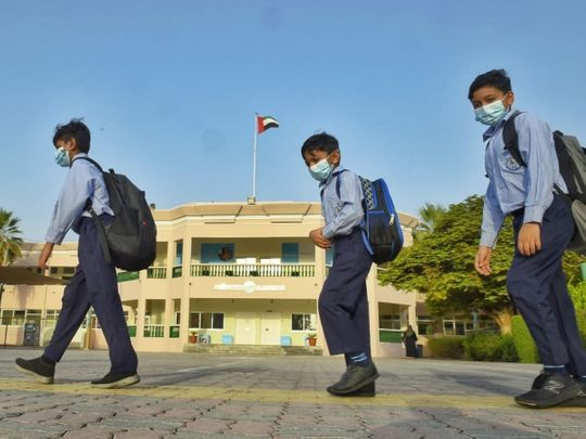 After two-month summer break, UAE schools welcome back students