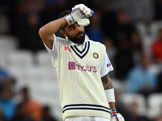 India captain Virat Kohli is feeling the heat