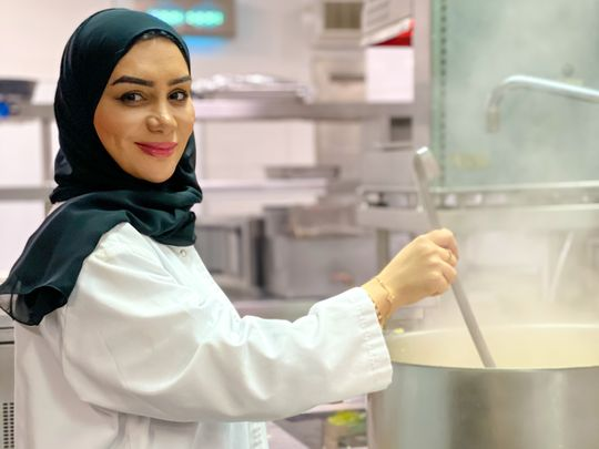 Laila Al Mansoori, Chef at DoubleTree by Hilton Resort & Spa Marjan Island