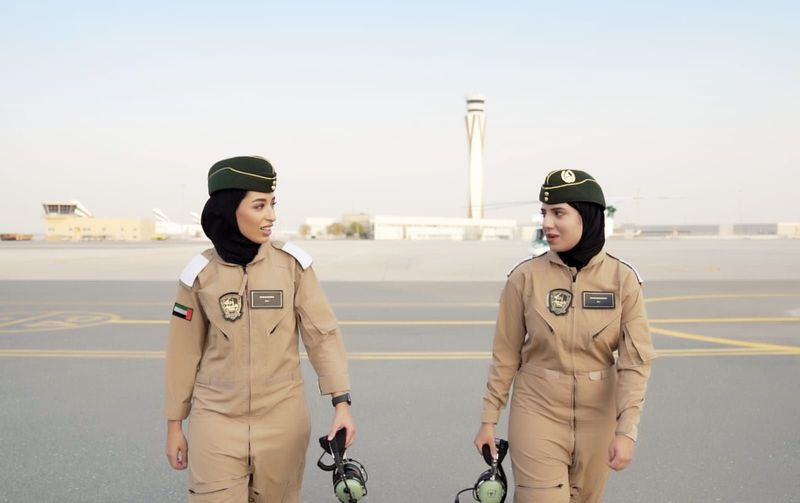 Two female pilots in Dubai 25-1630238709180