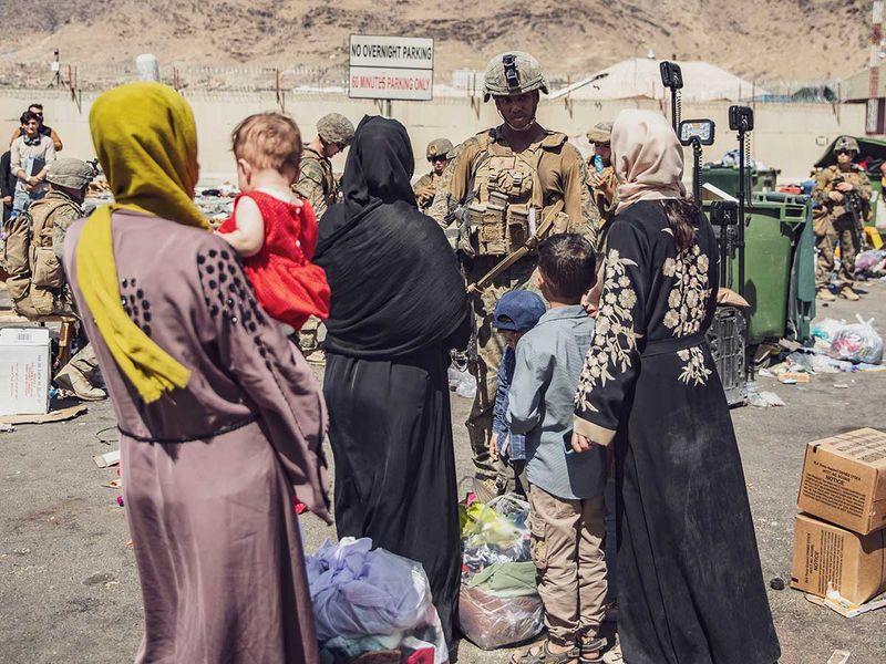 US marines Afghan Kabul