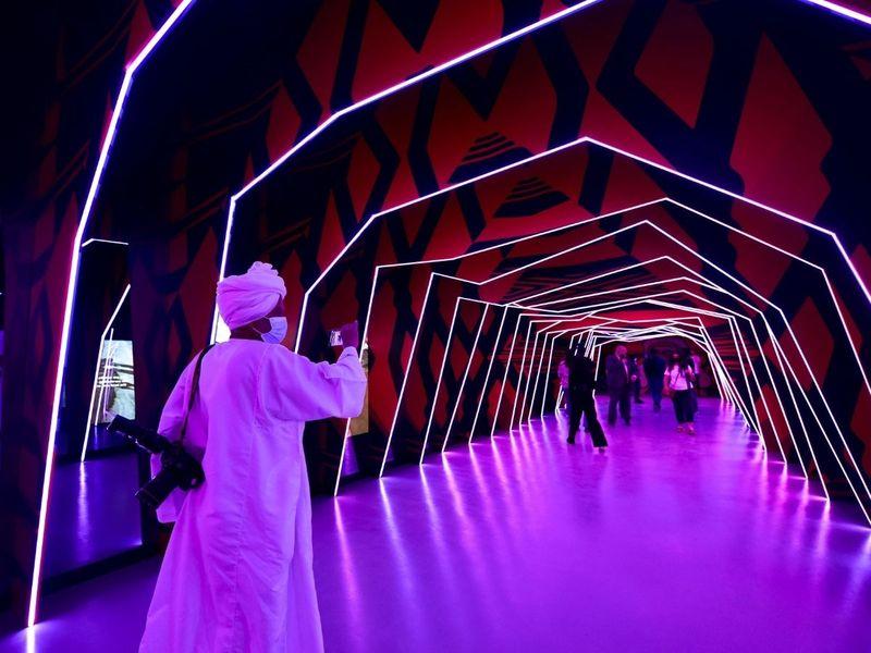 Australia pavilion at Expo 2020 Dubai