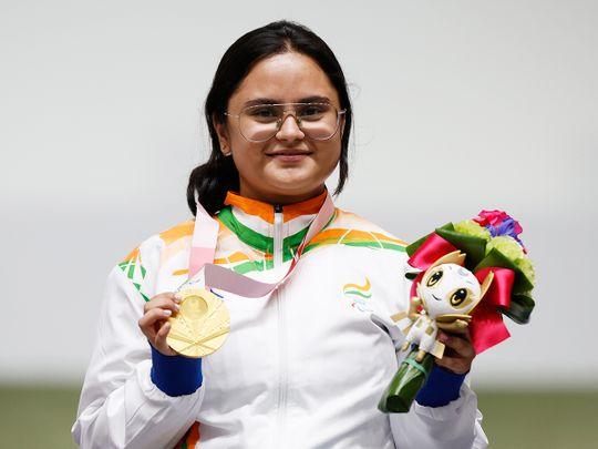 Tokyo Paralympics: Shooter Avani Lekhara becomes first Indian woman to win  gold at Games   Olympics – Gulf News