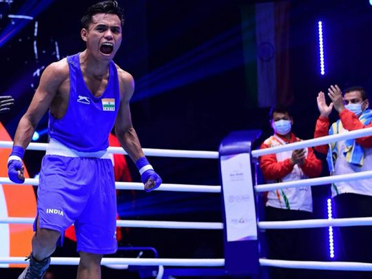 Bishwamitra Chongtham wins gold in Dubai