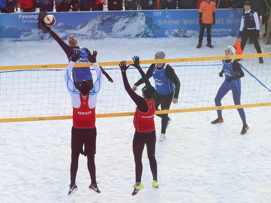 Dubai is gearing up to host the region's first official Snow Volleyball tournament in October