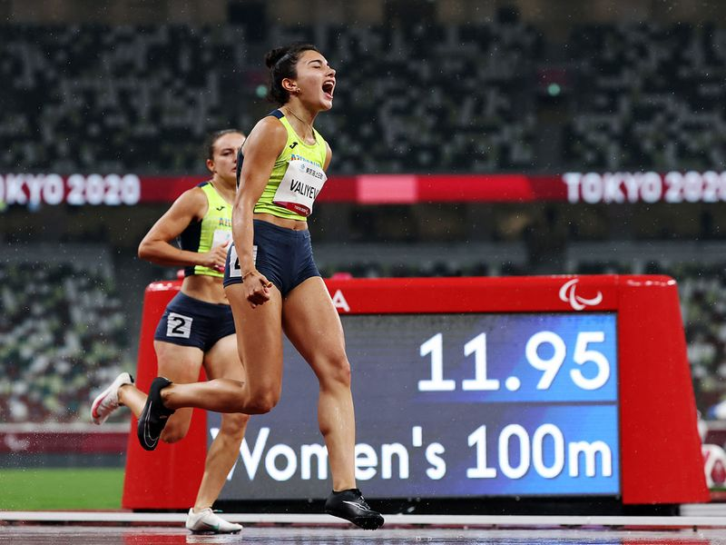Action from the Tokyo 2020 Paralympics