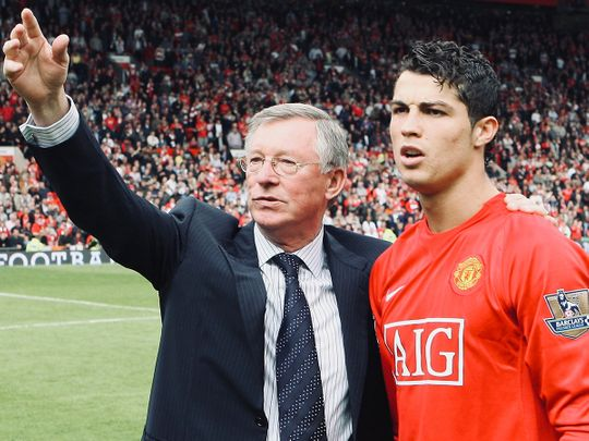 Alex Ferguson brought Cristiano Ronaldo to Manchester United the first time around