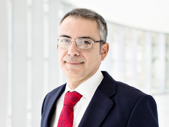 Emmanuel Givanakis, CEO of the Financial Services Regulatory Authority of ADGM