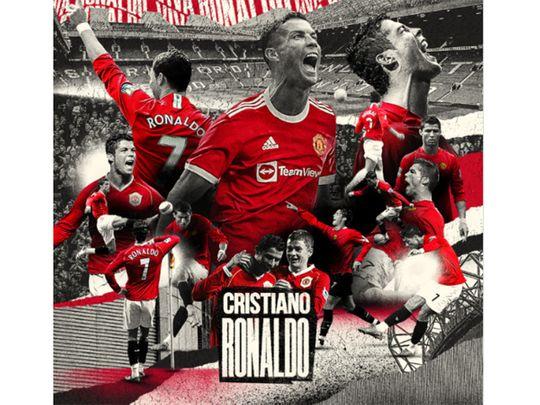 Manchester United announce Cristiano Ronaldo arrival