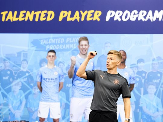 The City Football Schools Talented Player Programme is overseen by fully qualified coaches