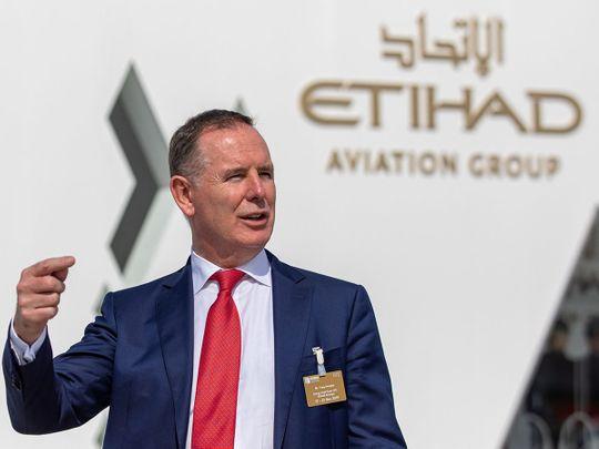 Tony Douglas, chief executive officer of Etihad Airways