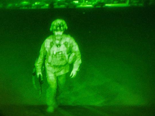 US Army Major General Chris Donahue