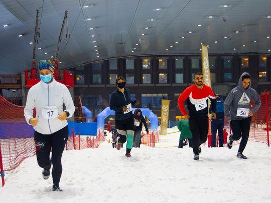 Dubai Snow Run