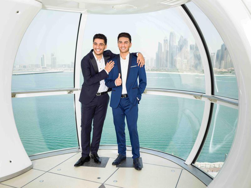 Mohammed Assaf Madame Tussauds Dubai Side By Side ii-1630475601208