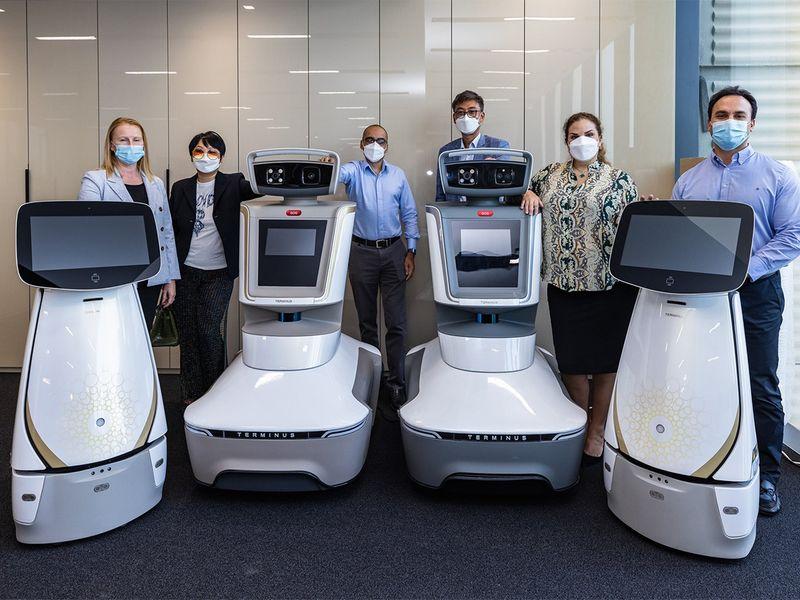 terminus robots expo 2020