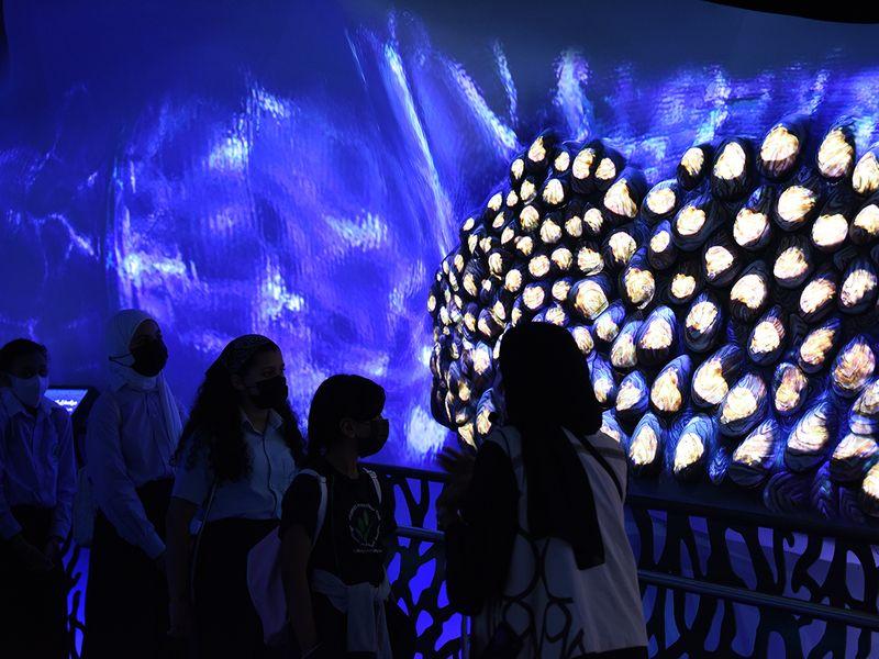 students sustainability pavilion expo 2020