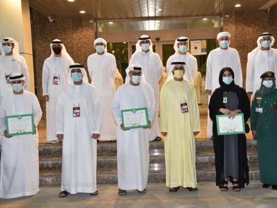 Dubai Police volunteers