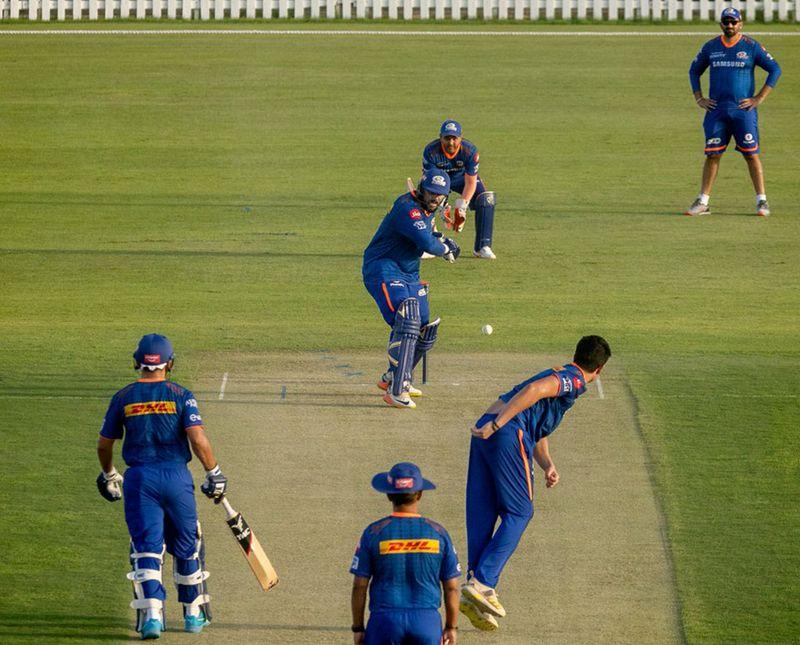 IPL - MI practice match