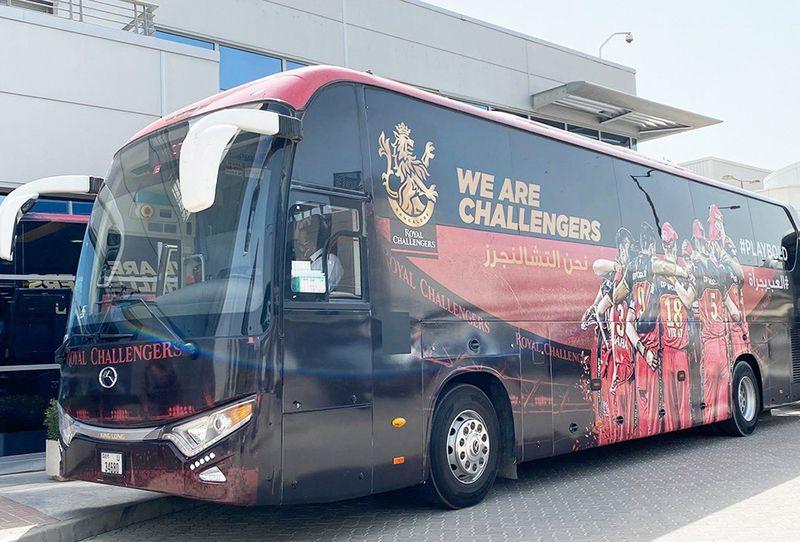 IPL - RCB bus