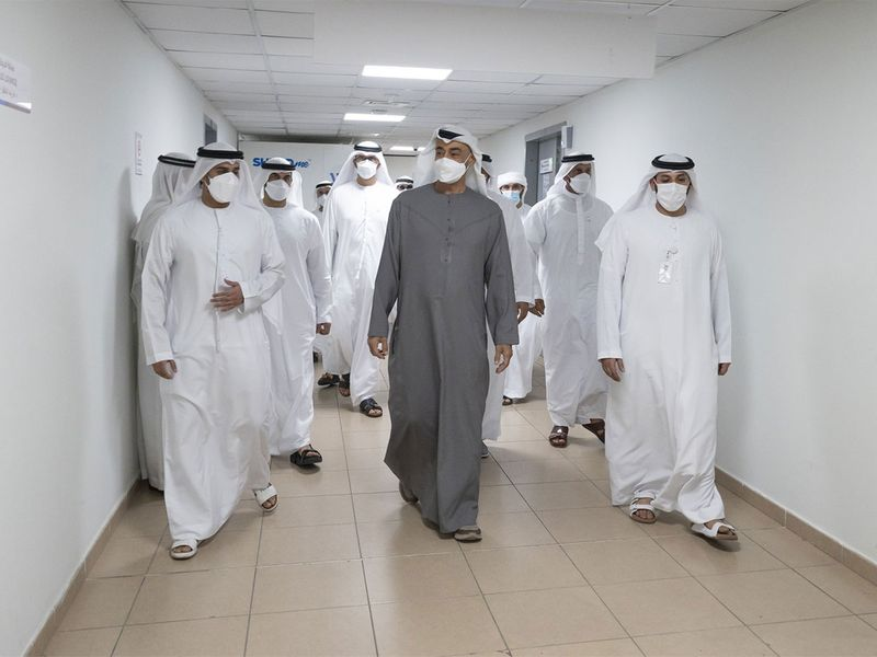 Mohamed bin Zayed Afghan families gallery