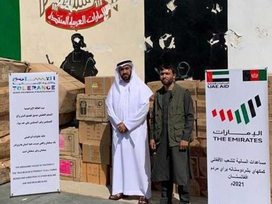 UAE aid to Afghanistan