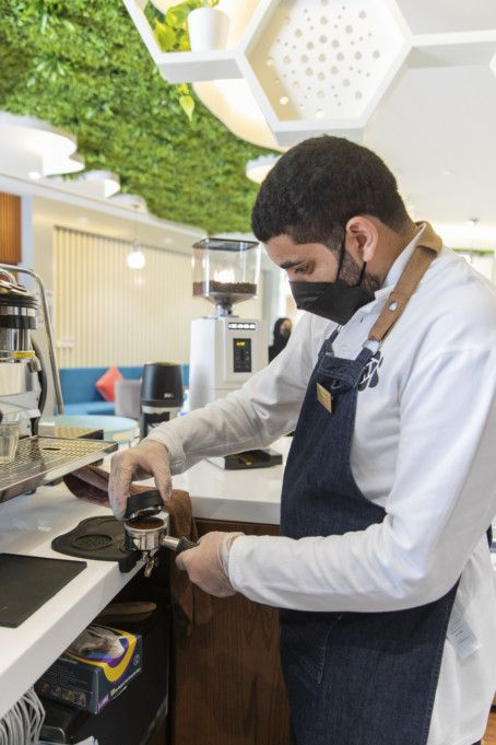 Five Emirati People of Determination to run The Bee Café-1630733438777