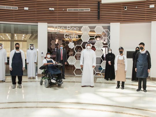 Five Emirati People of Determination to run The Bee Café2-1630733441010