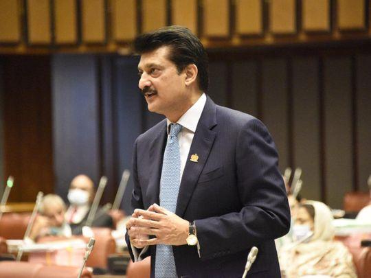 Senator Dr Shahzad Waseem