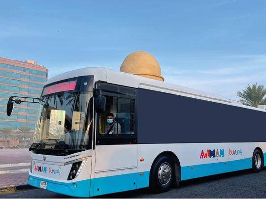Ajman bus