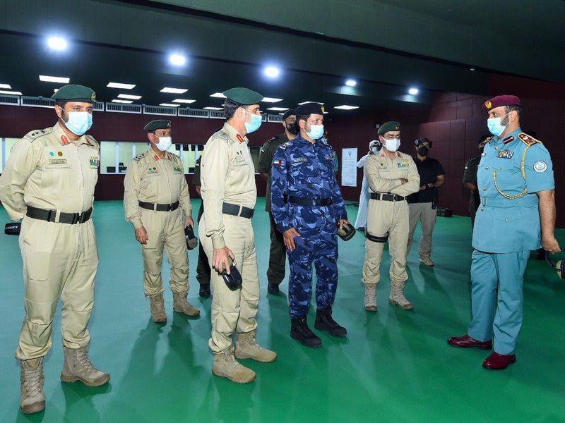 Dubai Police chief in Sharjah