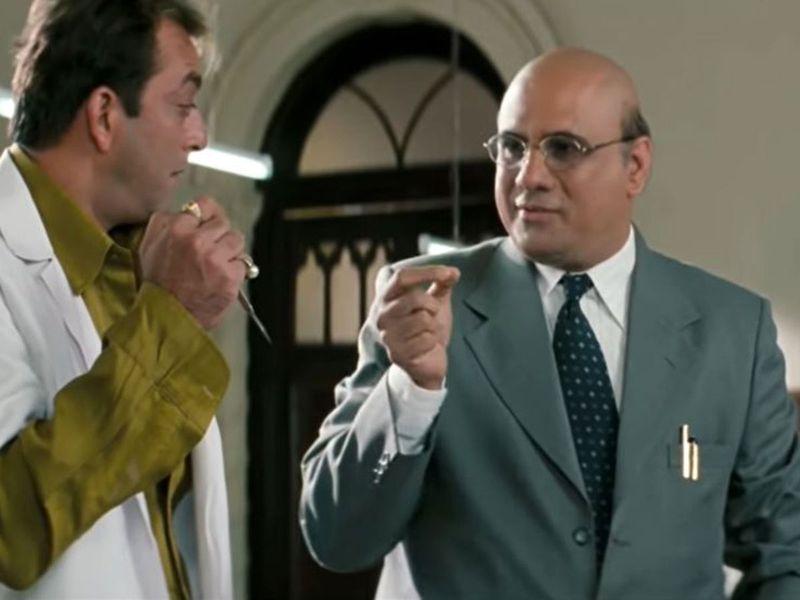 Sanjay Dutt and Boman Irani