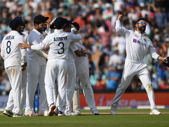 Cricket - India win at Oval