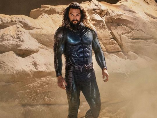 Jason Mamoa in 'Aquaman and the Lost Kingdom'