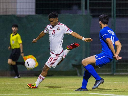The UAE were held 0-0 against Lebanon