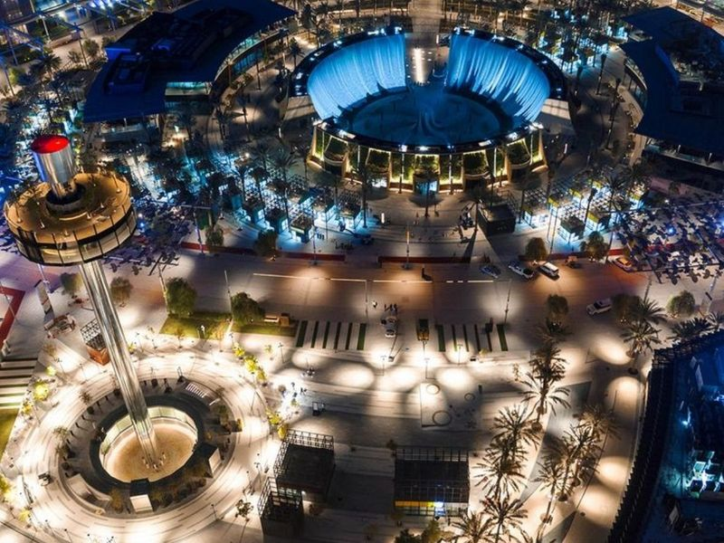 Water Feature at Expo 2020 Dubai
