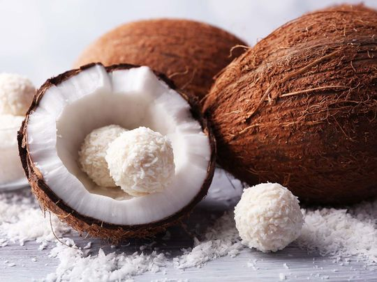 A list of recipes which use coconut