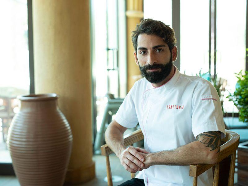 Chef Alberto Burgio