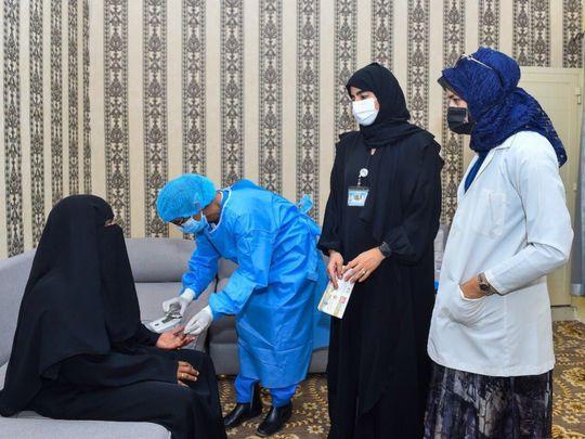 NAT Sharjah jail organises health event-1630996390529