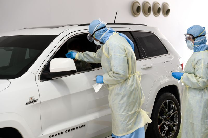 Covid Drive Through Testing-2-1631088586751